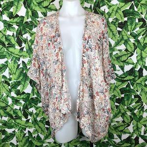 5 for $25 Forever 21 Contemporary Floral Kimono